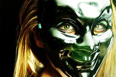 Masks (Sergio Fabara) Tags: boy male girl sergio fashion female photography model eyes makeup masks fabara