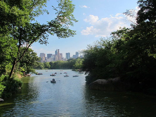 central park in august