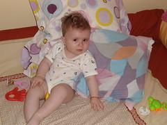 DSC02876 (luci.c) Tags: pink girl antonia bebe ioana aniversare dungi