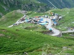 P1030262 Rain drenched Marhi down there (ks_bluechip) Tags: india manali rohtangpass himachal keylong