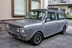 AUSTIN  MINI CLUBMAN Estate  year 1982 (marvin 345) Tags: auto old italy classic cars car vintage austin automobile italia mini voiture historic trento oldtimer trentino austinmini vecchio clubman epoca storico vecchia vecchie storiche austinminicluman