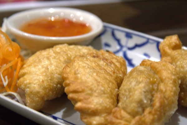 curry puffs at Malacca Straits on Broadway