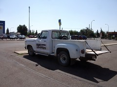 white ford truck f100 f150 1979 stepside