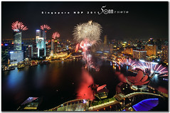 Singapore National Day Parade 2011 - Final burst (fiftymm99) Tags: show park bridge reflection building skyline river one hotel boat nikon singapore day fireworks rehearsal parade celebration national land ndp cbd fullerton merlion performances ntuc chartered d300 uob maybank 2011 captial stnadard fiftymm99 mygearandme gettyimagessingaporeq2 singaporenationaldayparade2011 sinagporendp2011