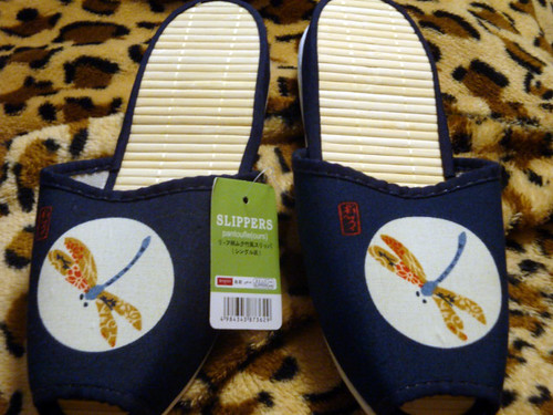 The Japanese house slippers