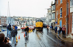 37191 at weymouth (47604) Tags: street people car branch harbour quay weymouth class37 37191 alltypesoftransport