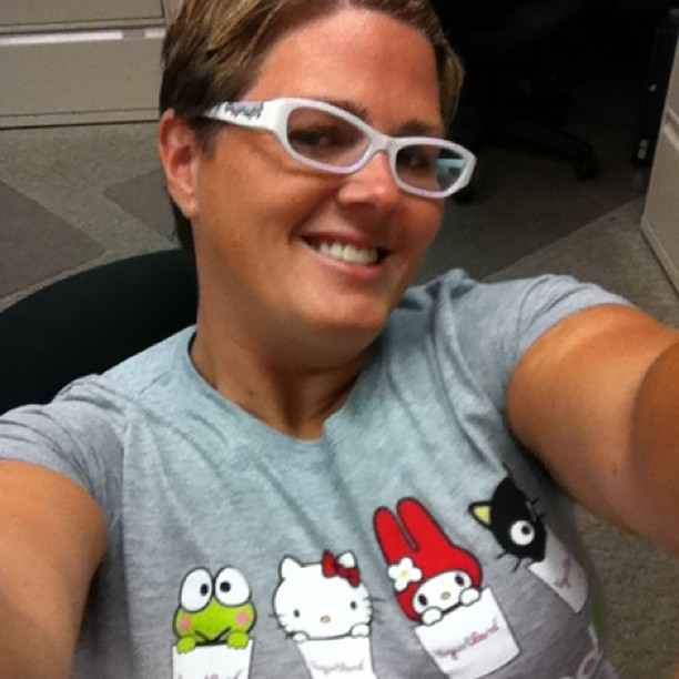 Project 365 223/365: Today's fashion is my @Sanrio Yogurtland t-shirt. #hellokittyaddict