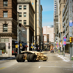 tumbler (simple pleasure) Tags: summer downtown pittsburgh camouflage batman gotham filming fakesnow westernpennsylvania purplebelt thedarkknightrises