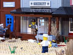 Deadbrick11 (Shmails) Tags: cowboys lego contest western duel custom wildwest minifigures
