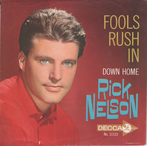 Rick Nelson Picture Sleeve