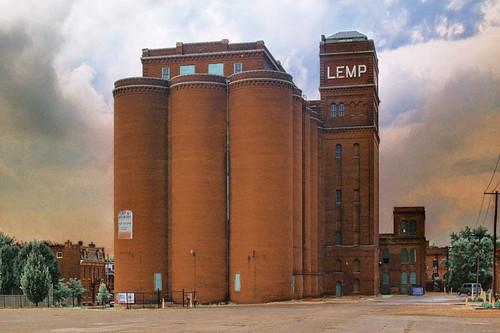Lemp grain elevators