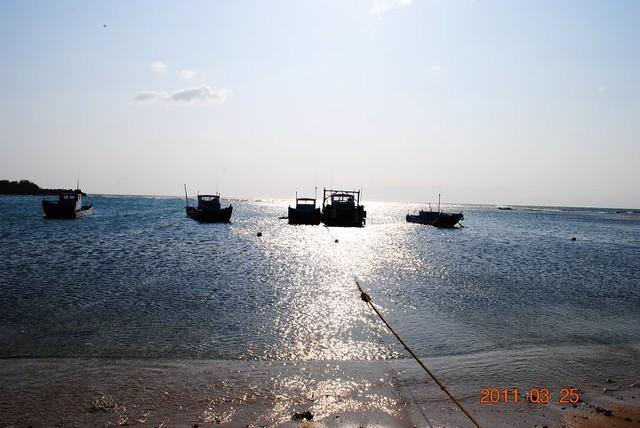 後彎漁村海景