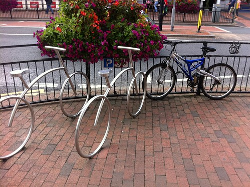 Not sure everyone realises they are bike racks