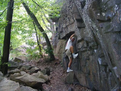 Rock solid, the boulder, not Eddie