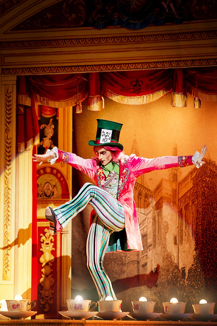 "Steven McRae as the Mad Hatter in Christopher Wheeldon's Alice's Adventures in Wonderland. The Royal Ballet 2010/11 season. <a href=""http://www.roh.org.uk/productions/alices-adventures-in-wonderland-by-christopher-wheeldon"" rel=""nofollow"">www.roh.org.uk/productions/alices-adventures-in-wonderlan...</a>"