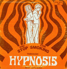 You Can Stop Smoking Through Hypnosis (Jim Ed Blanchard) Tags: orange graphicdesign weird album vinyl smoking stereo stop lp record thriftstore psychedelic cigarettes hypnosis jackberry