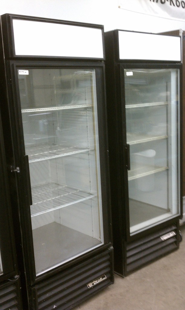 Used Single Glass Door Merchandisers $550 - $795