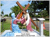 '4th Station of the Cross' at St. Anne's Sanctuary, Bukit Mertajam