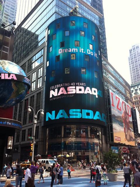 Dream it, Do it, NASDAQ