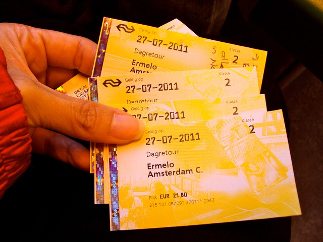 Intercity Train Tickets to Amsterdam