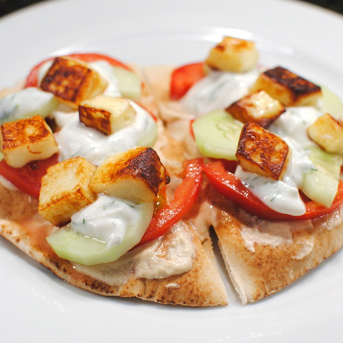 Summer Gardeb Flatbread