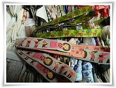 Grgas novas (Feltro em Casa by Mal) Tags: ribbon fitas gales armarinho