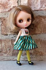 Matilda's new owl dress
