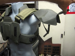 Marine Armor Assembly07 (thorssoli) Tags: trooper costume marine halo armor assembly halo3 vacuform unsc vacform