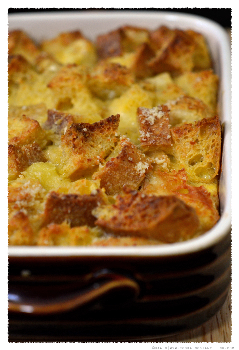 Parsnip Bread Pudding© by Haalo