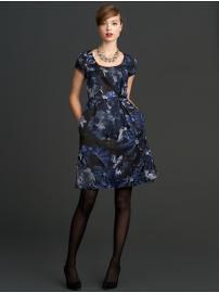 BR Bergonia Print Dress 00P