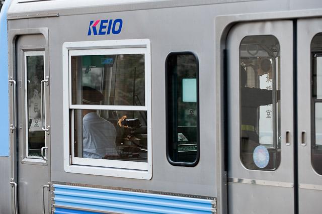 京王電鉄井の頭線3000系 撮影回送列車