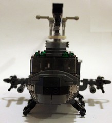 UH-1 Death From Above (Babalas Shipyards) Tags: lego aircraft military huey helicopter vtol iroquois uh1 attackhelicopter