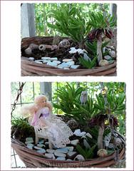 Mini Fairy Garden (Jollie) Tags: garden miniature mini fairy 112 dollhouse faries dollshouse oneinchscale