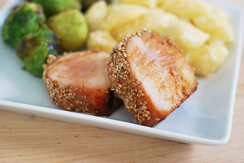 6067225371 895e95e9e7 Secret Recipe Club   Honey Sesame Pork Loin