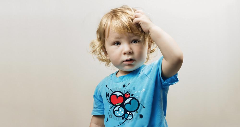t-shirt Enfant Leucan