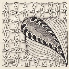 Weekly Challenge 36 (Amaryllis Creations) Tags: penink zentangle
