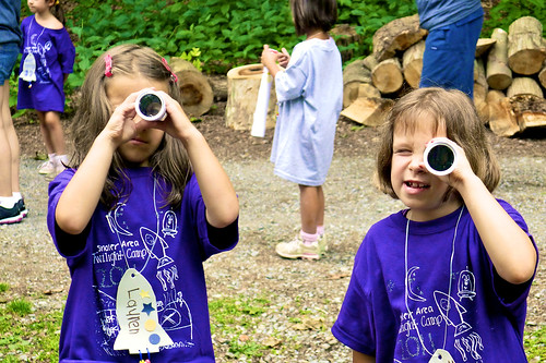 Twilight Camp 2011:  Looking for aliens.