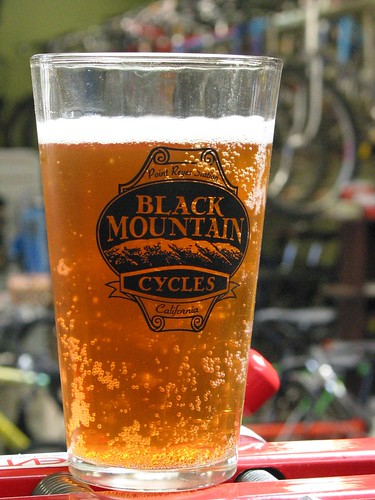 Black Mountain Cycles pint glass