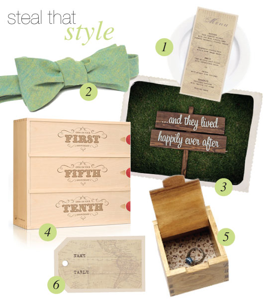 steal that style vineyard wedding