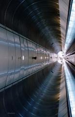 Tunnel vision (cbomers) Tags: underground subway rotterdam pedestrian tunnel metrostation wilhelminaplein wilheminaplein
