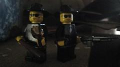Southside Gangsters (The Brick Guy) Tags: bar lego custom minifigure brokenbottle baseballbat brickarms brickforge blacklodgecustoms brickfair2011 southsidegangster