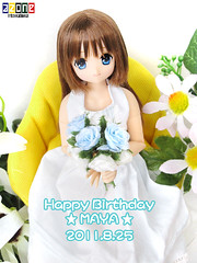 Today is Maya's birthday! (Shojo Figure) Tags: maya sahra azone pureneemo