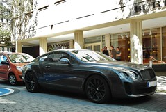 Supersports (europeanspotter) Tags: car grey hp many frankfurt fast ps supercar bentley sportscar supersports europeanspotter