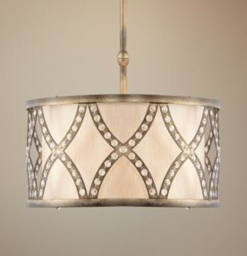 Lamps Plus Drum Shade Chandelier