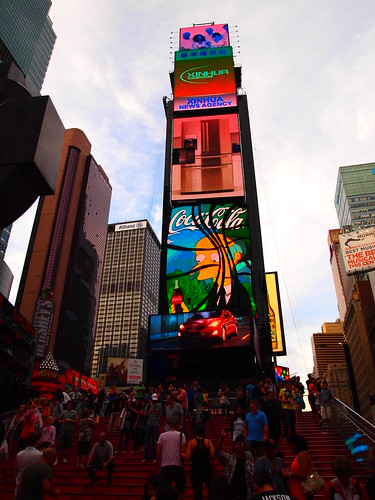 The Simpsons - Times Square by Albert Figueras