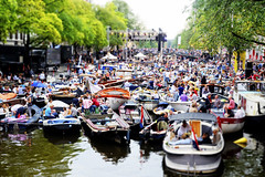 whispering foolish things, you could really hear me (JonBauer) Tags: holland netherlands amsterdam festival boats canal concert nikon europe stage nederland prinsengracht classicalmusic mokum tiltshift grachtenfestival 2011 flickrexplore explored d700 2470mmf28g