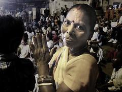 India Views (Gusulabu) Tags: travel portrait india canon retrato textures varanasi hindu dragan ganga oldmen ganges aarti benares ancianos draganizer