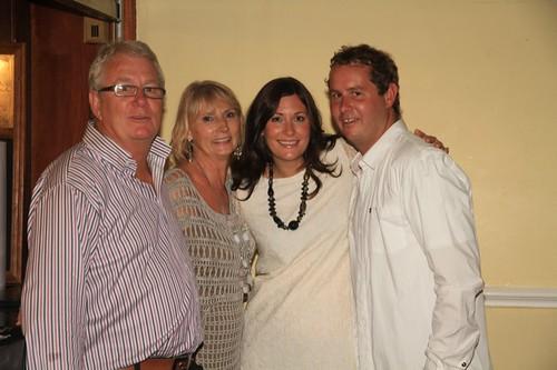 Colm, Sue, Emma & Liam O'Shea