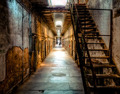 Eastern State Penitentiary (ESP) (Sky Noir) Tags: urban usa philadelphia dark photography us bravo unitedstates state decay unitedstatesofamerica rusty landmark haunted creepy prison jail philly eastern esp crusty hdr penitentiary urbanexplorers skynoir bybilldickinsonskynoircom