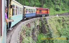 Himalayan Queen on her way to Simla (Monsoon Lover) Tags: india flickr unescoworldheritagesite railways himachalpradesh toytrain narrowgaugetrain heritagerailway himalayanqueen sudipguharay shimlakalkaraiway himalayanqueentrain gautamsaklani takenfromthesametrain
